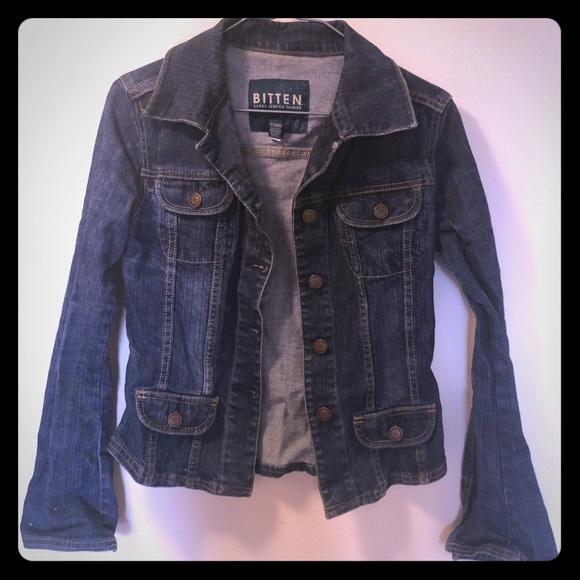 Bitten Jackets Blazers Bitten By Sarah Jessica Parker Denim Jacket